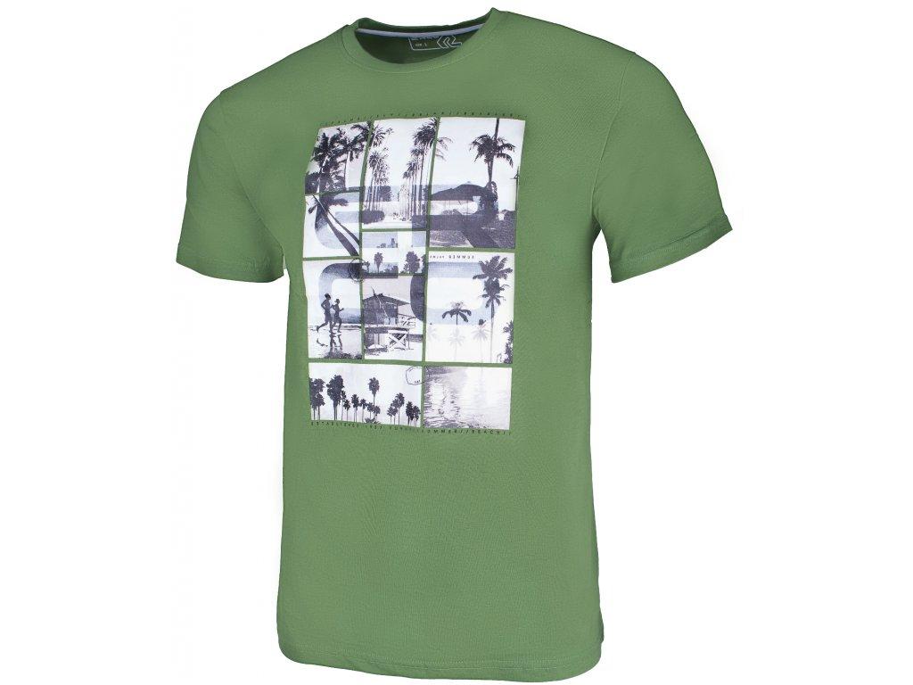 Pánské tričko ERCO CHICO GRN zelená