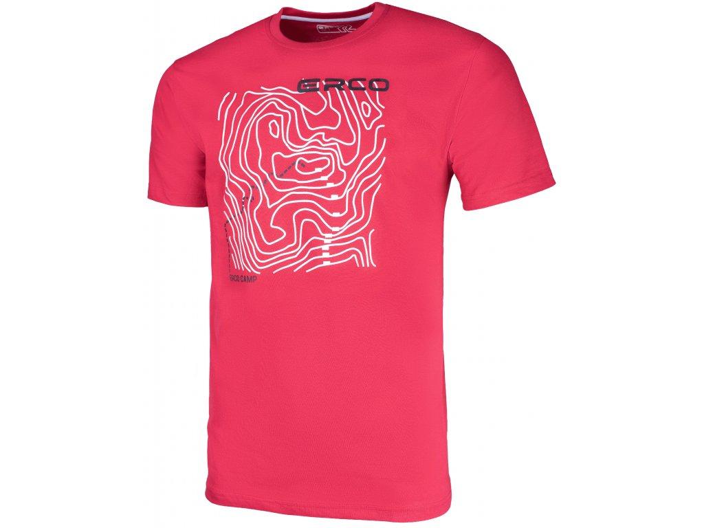 Pánské tričko ERCO MAXIM RED červená