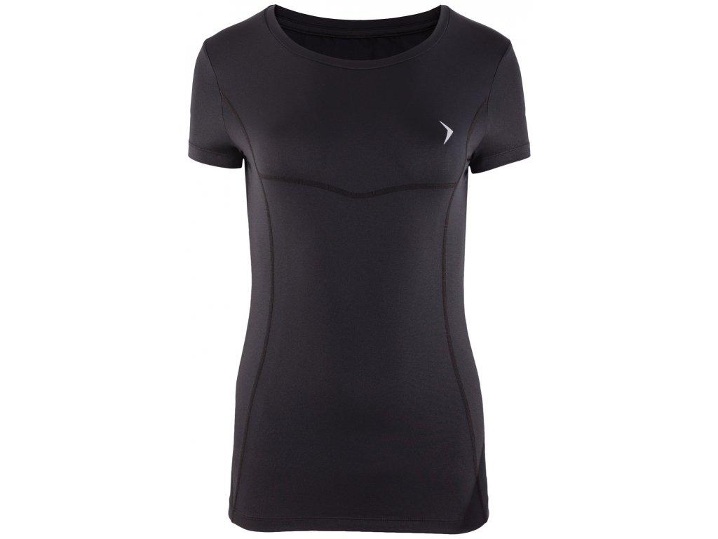 Dámské funkční tričko Outhorn TSDF600 Deep black černá