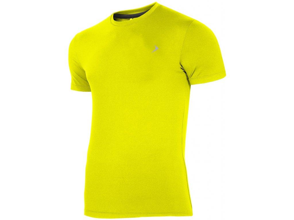 Pánské funkční tričko Outhorn TSMF600 Lemon žlutá