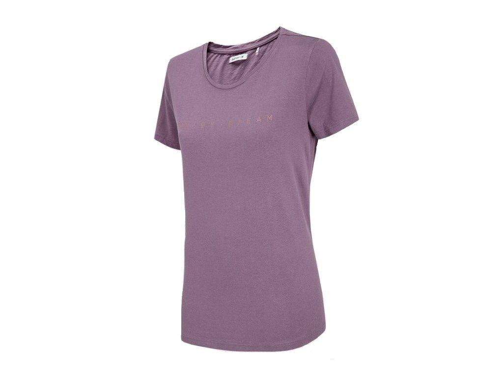 Dámské tričko Outhorn TSD610 Violet fialová