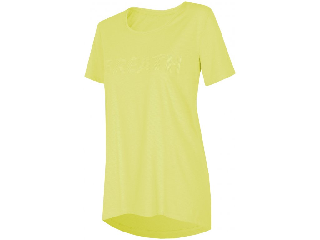 Dámské tričko 4F TSD016 Lemon žlutá