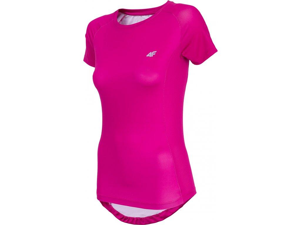 Dámské funkční tričko 4F TDF002 D.pink růžová