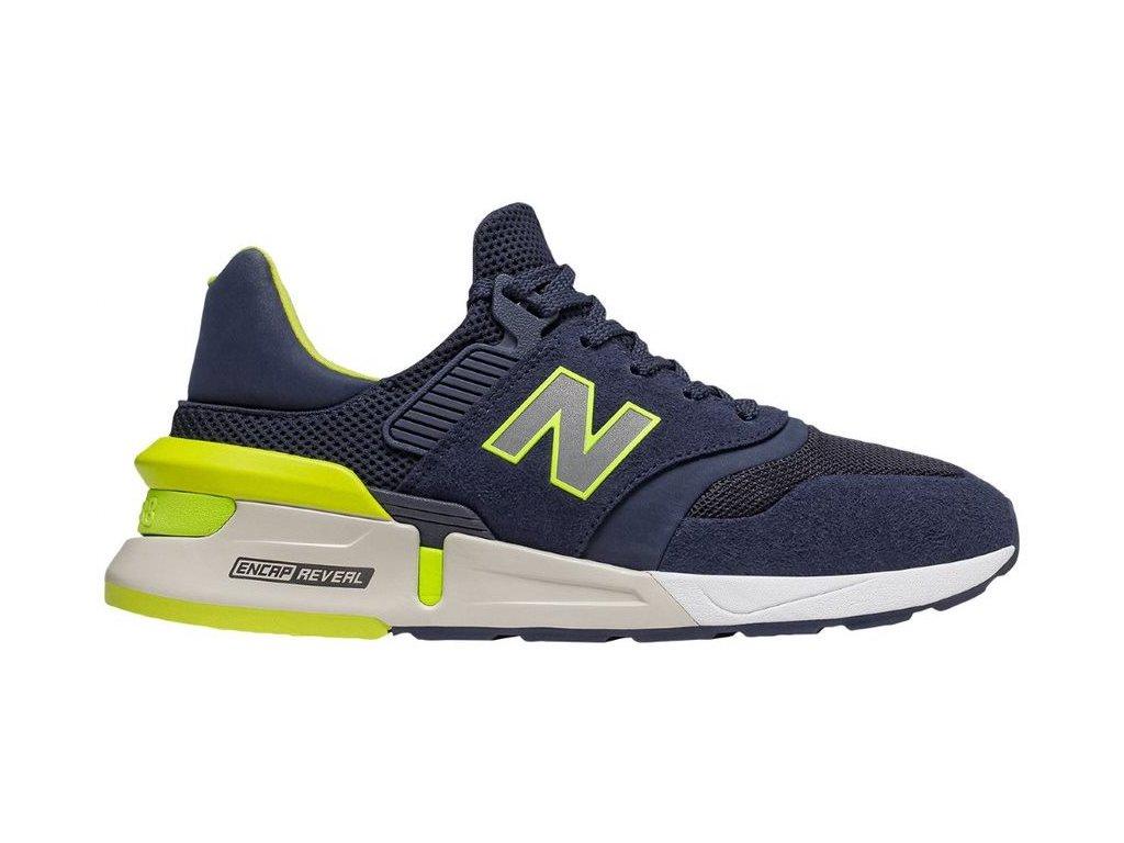 Pánská lifestylová obuv New Balance MS997 RH modrá