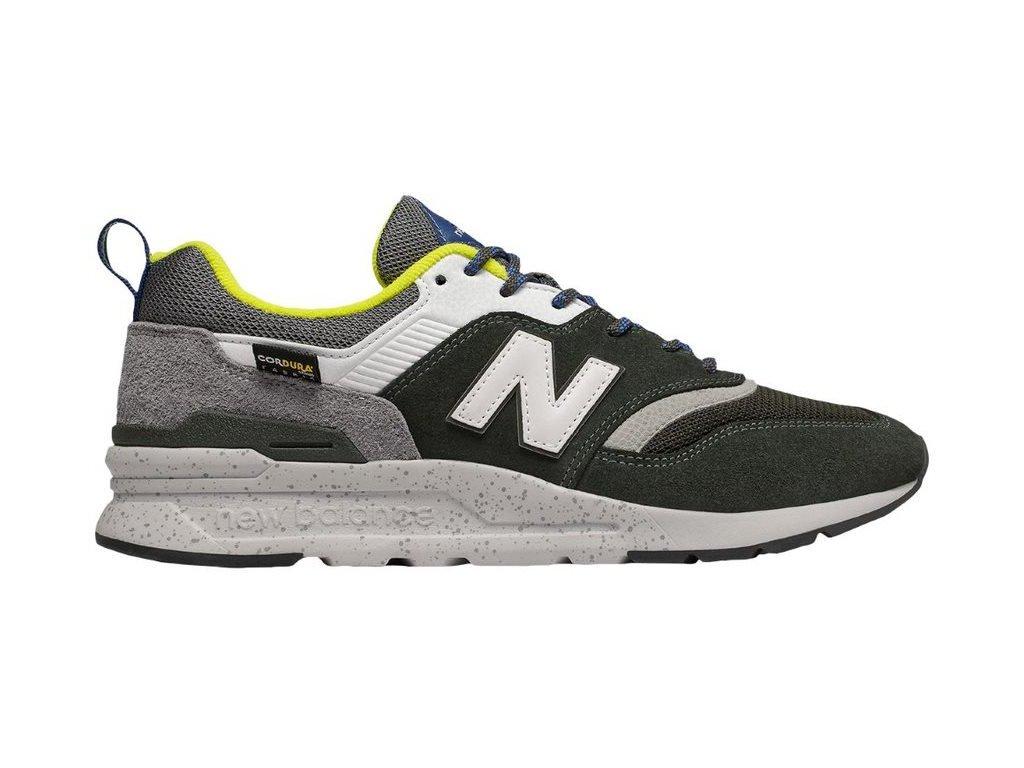 Pánská lifestylová obuv New Balance CM997 HFD černá
