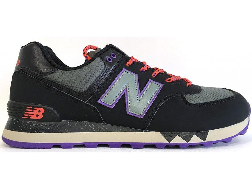 Pánská lifestylová obuv New Balance ML574 NFQ černá