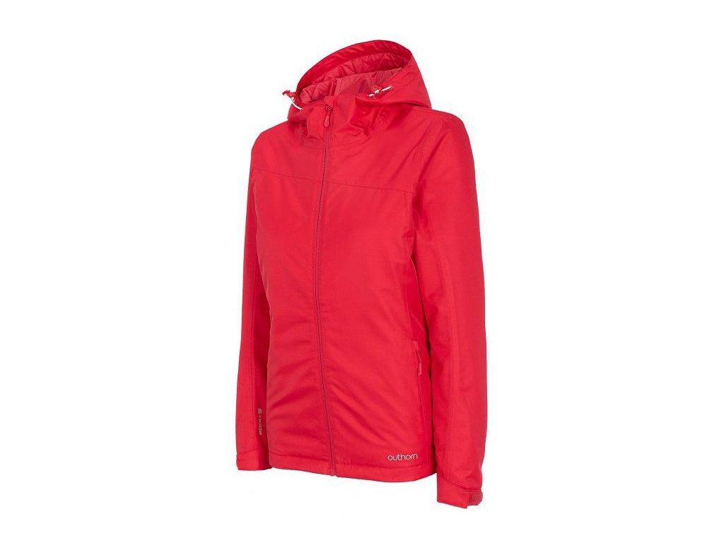 Dámská lyžařská bunda Outhorn KUDN600 Salmon coral červená