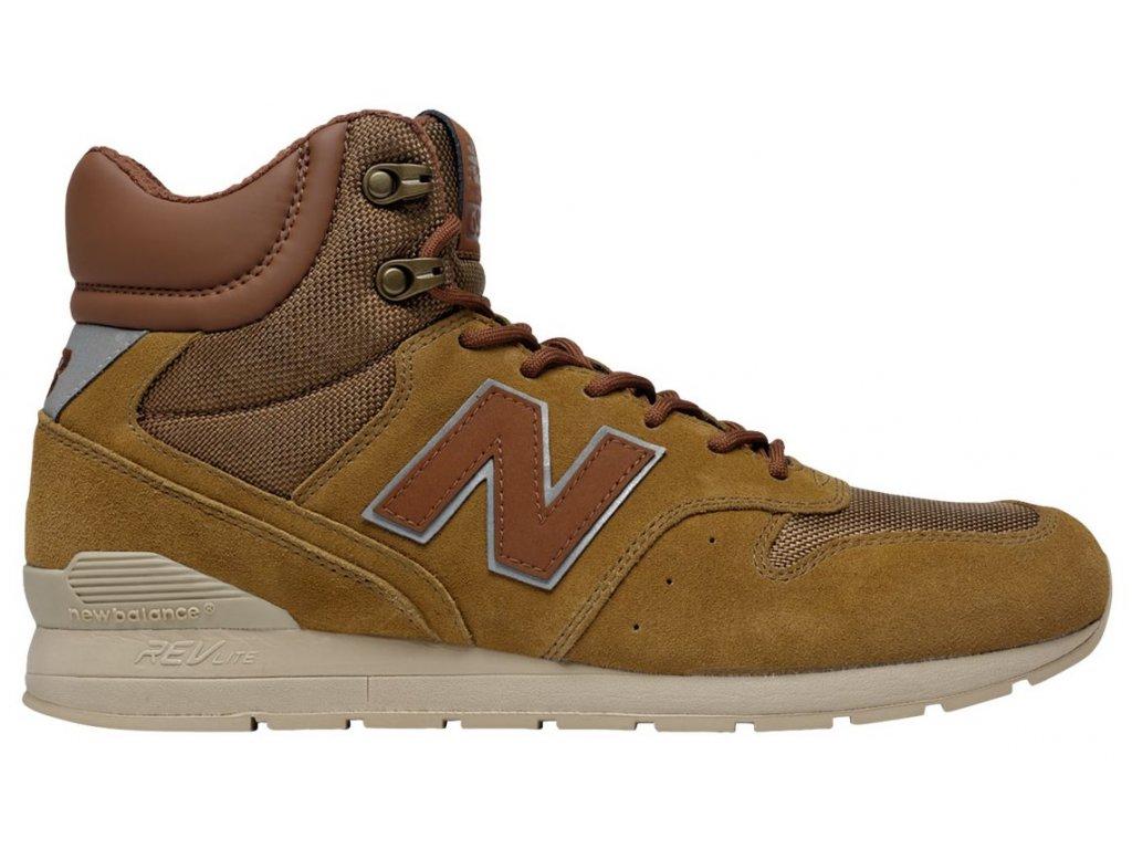 Pánská lifestylová obuv New Balance MRH996 BR hnědá