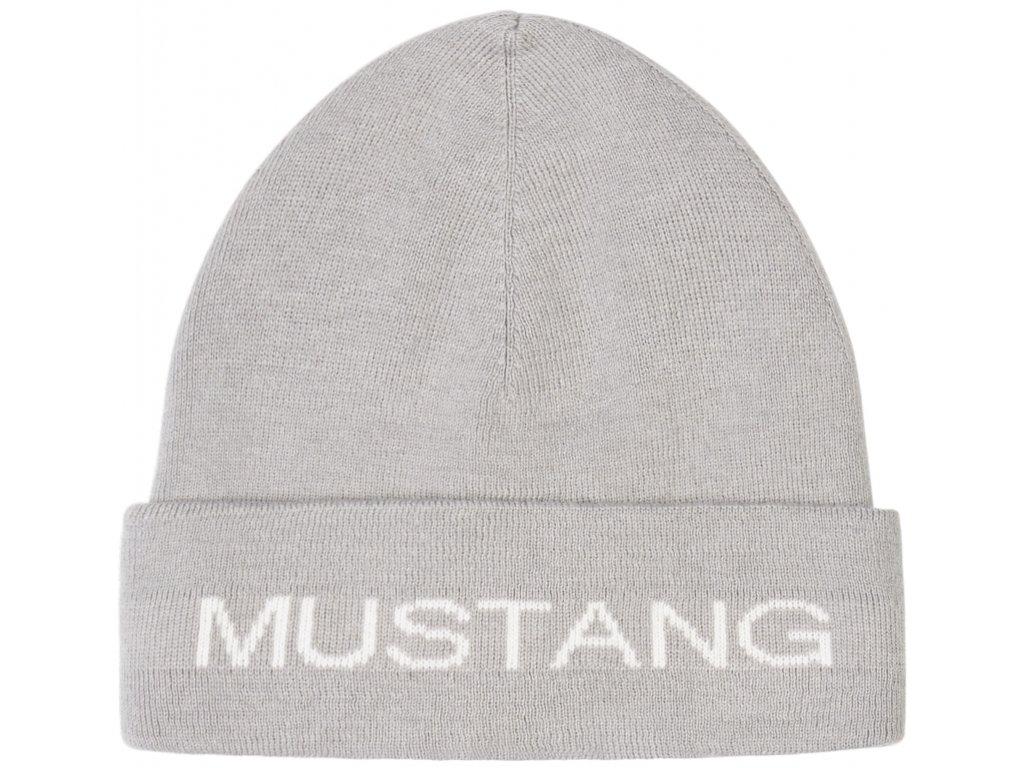 Čepice Mustang 1008724 4140 šedá