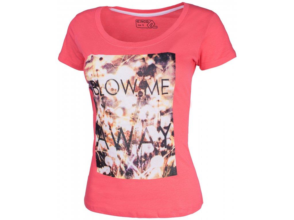 Dámské tričko ERCO AWAY PNK růžová