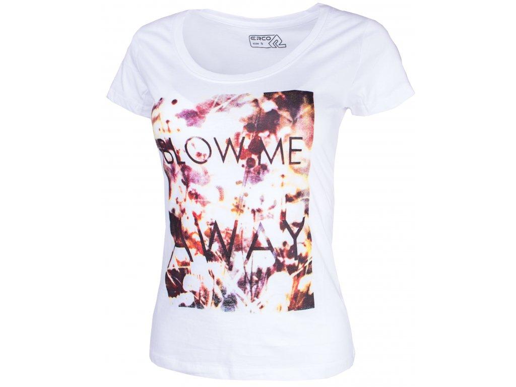 Dámské tričko ERCO AWAY WHT bílá