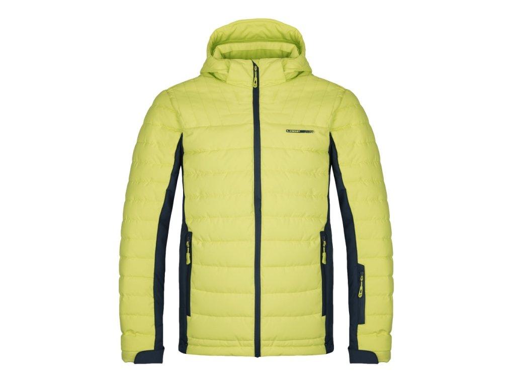 Pánská lyžařská bunda Loap OMRI C09T žlutá