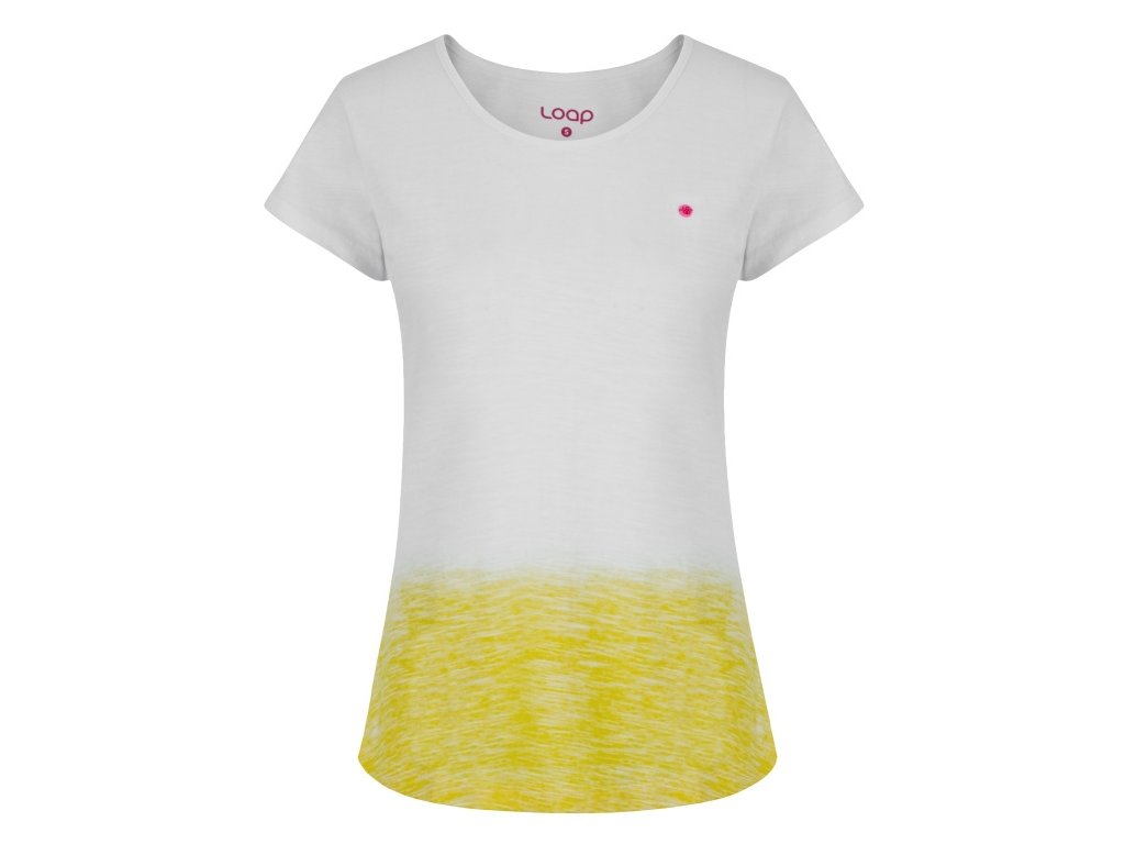 Dámské tričko Loap BLUSSI A14C bílá