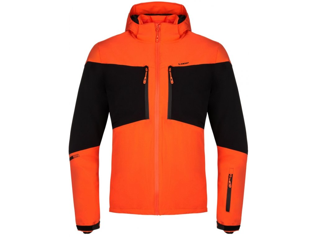 Pánská bunda Loap FAVOR E03V oranžová