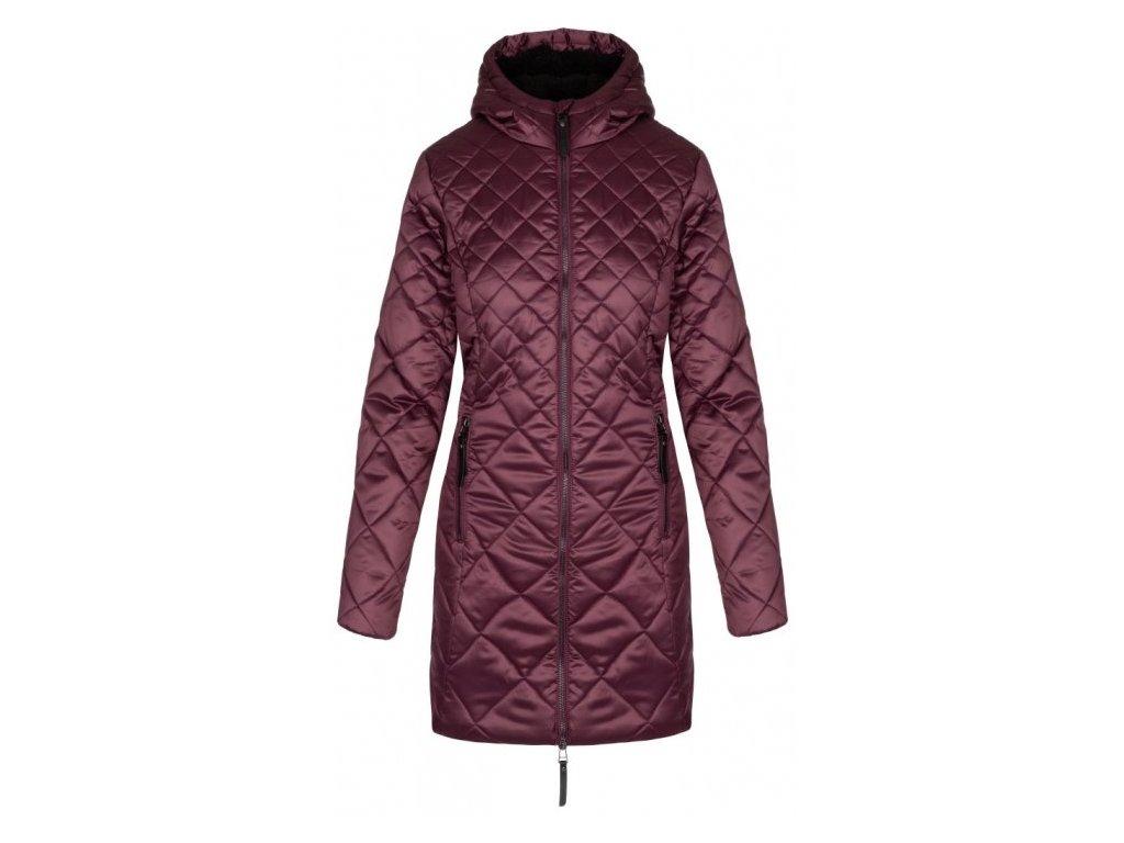 Dámský kabát Loap TENCY K59L fialová