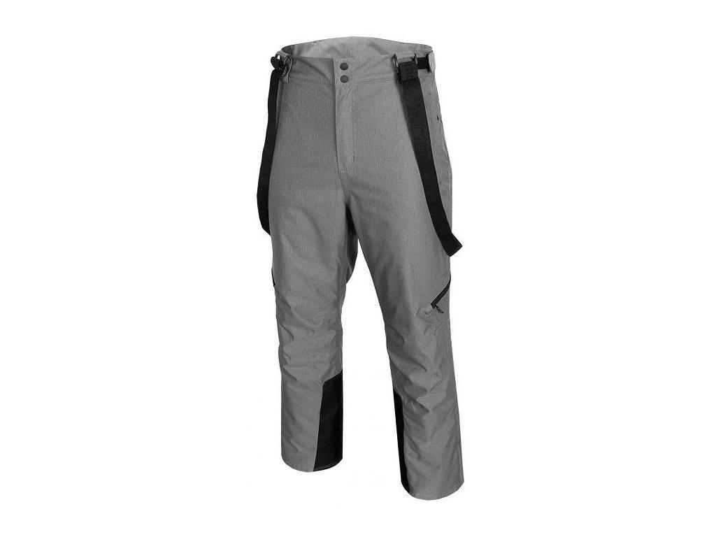 Pánské lyžařské kalhoty Outhorn SPMN601 Mid grey mel. šedá