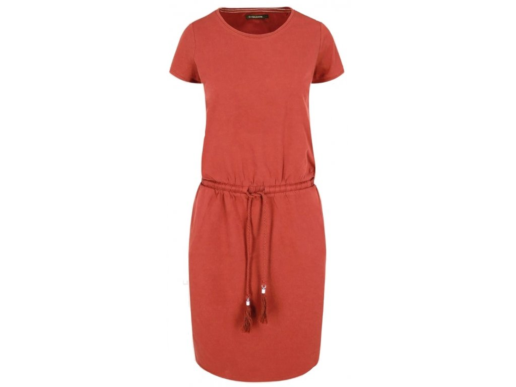 Dámské šaty Volcano G-Jone 403 červená