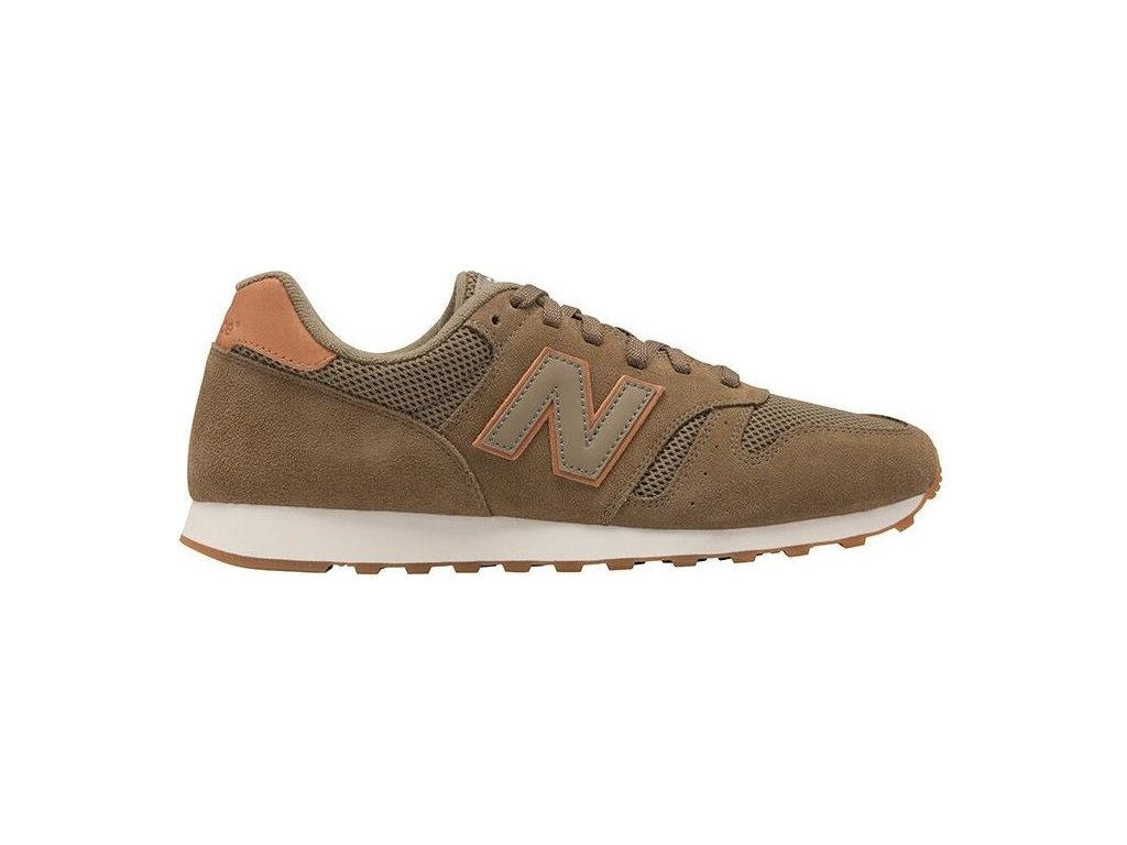 Pánská lifestylová obuv New Balance ML373 CVG hnědá