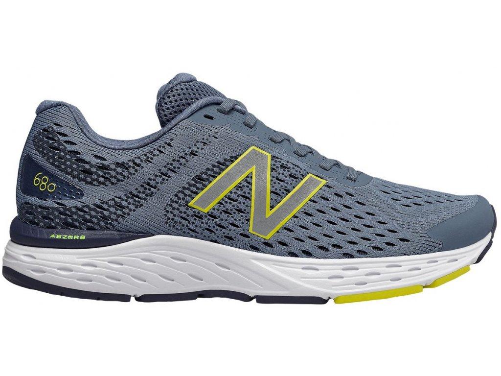 Pánské běžecké boty New Balance M680 CC6 šedá