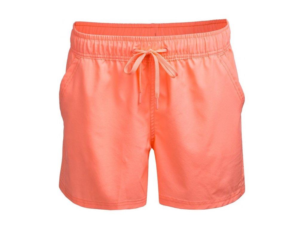 Dámské kraťasy Outhorn SKDT602 Coral neon oranžová