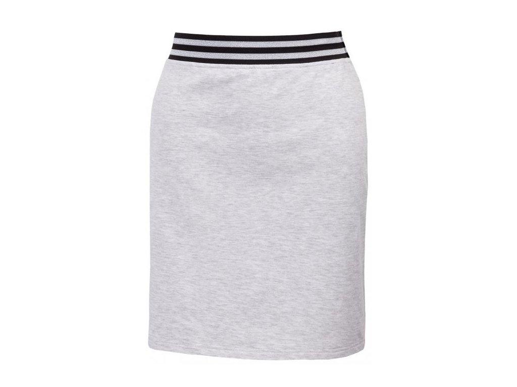 Dámská sukně Outhorn SPUD601 Cold l. grey mel. šedá