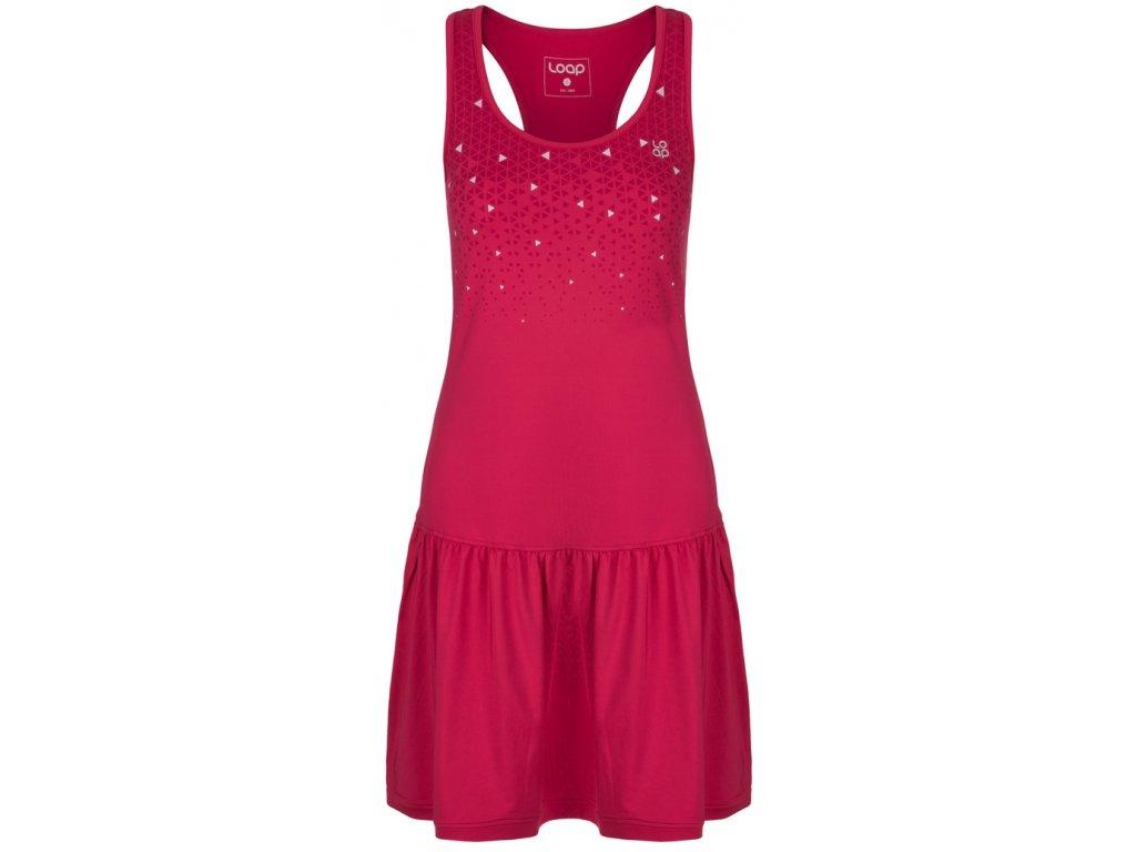 Dámské šaty Loap MERSILA J48T růžová
