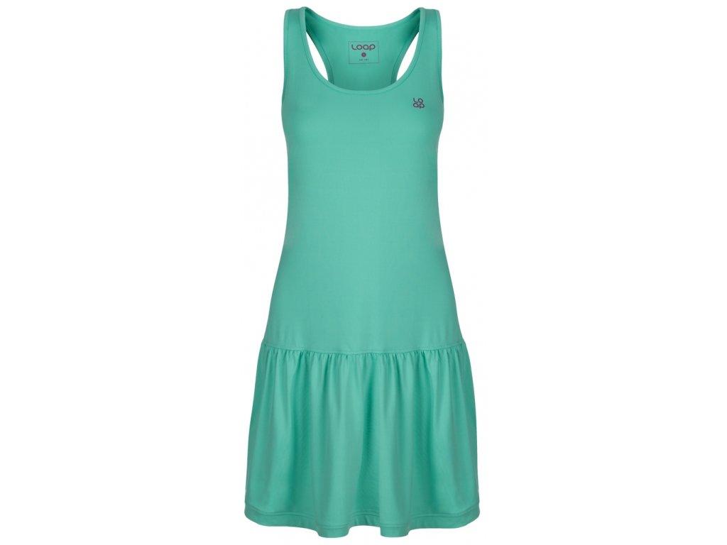Dámské šaty Loap MERSIKA P42J zelená