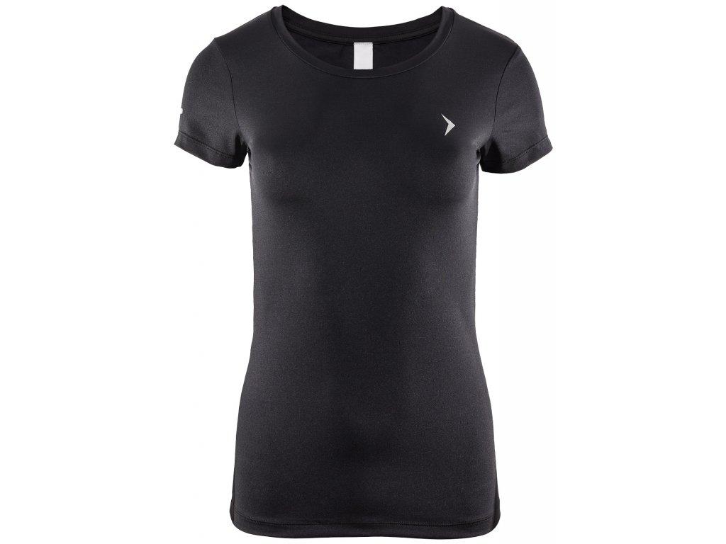 Dámské funkční tričko Outhorn TSDF600 Black černá