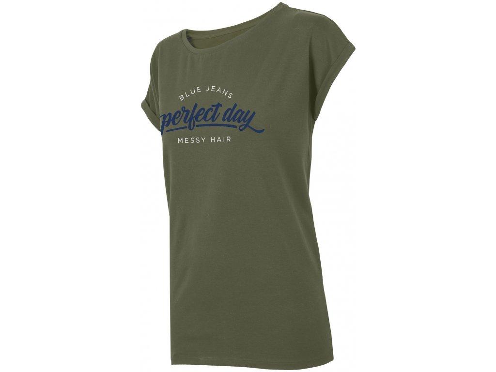 Dámské tričko Outhorn TSD612 Khaki Khaki