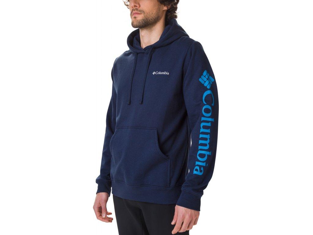 Pánská mikina Columbia Viewmont™ II Sleeve Graphic Hoodie 465 modrá