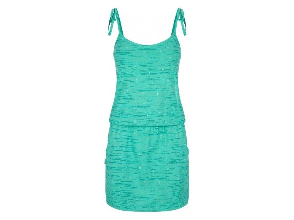 Dámské šaty Loap BAA P42PY zelená