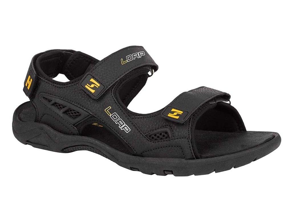 Pánské sandály Loap COLTRAN V20C černá