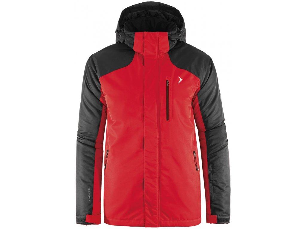 Pánská lyžařská bunda Outhorn KUMN602 Red červená