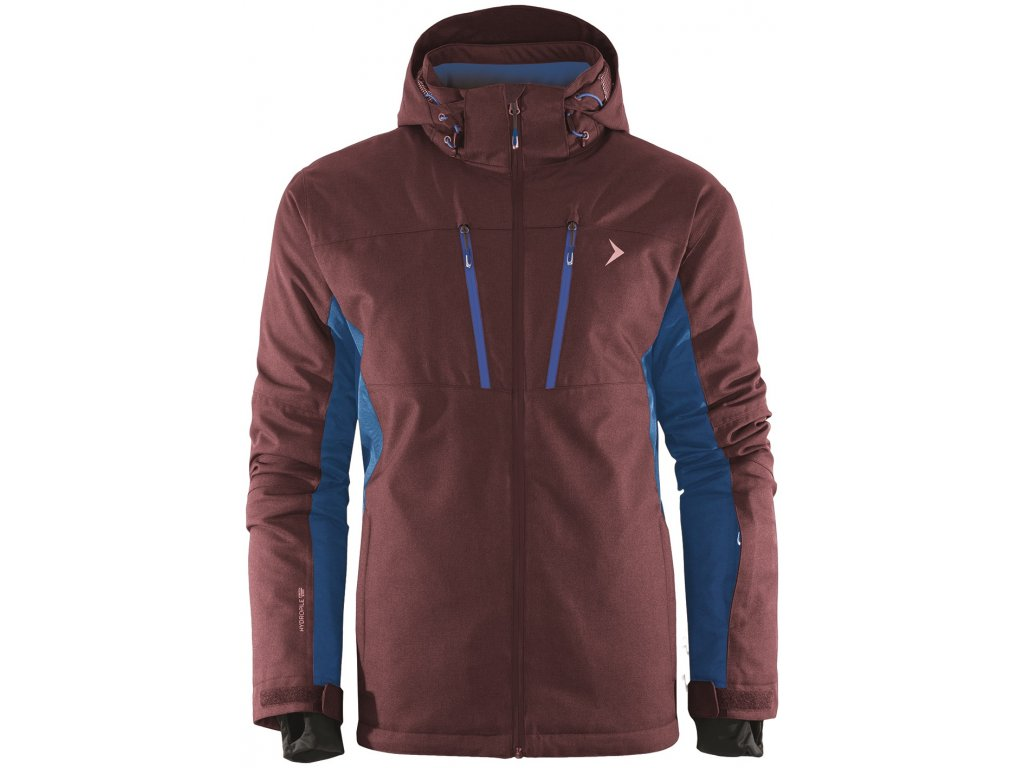 Pánská lyžařská bunda Outhorn KUMN606 Brown hnědá