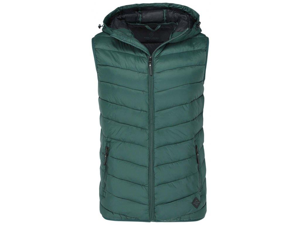 Pánská vesta Volcano V-PAST 300 zelená