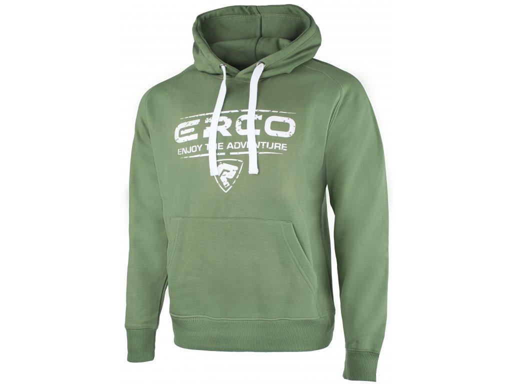 Pánská mikina ERCO RANDAL GRN zelená