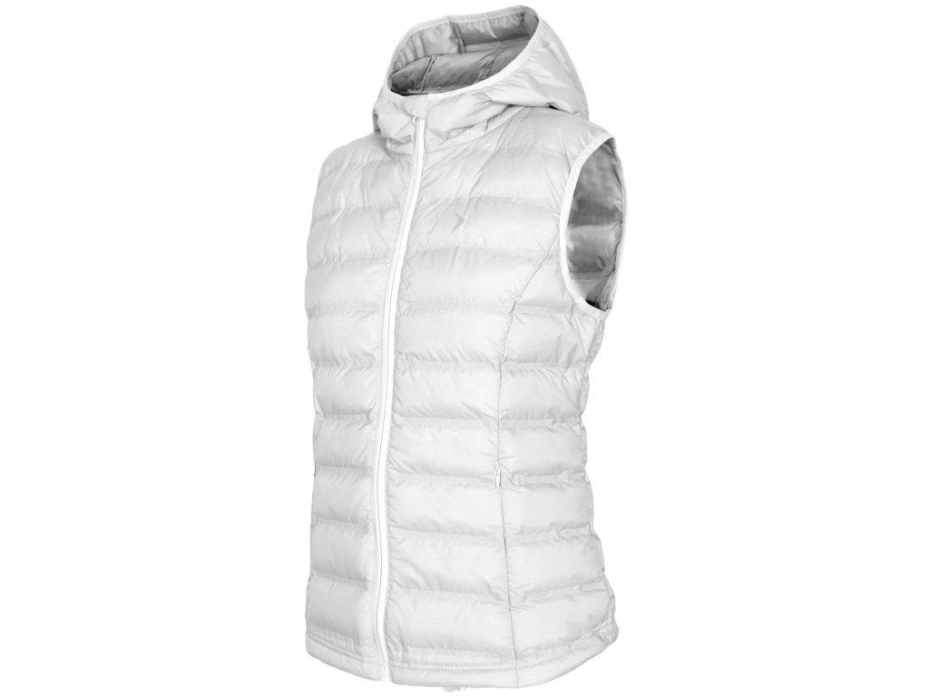 Dámská vesta Outhorn KUD600 white bílá