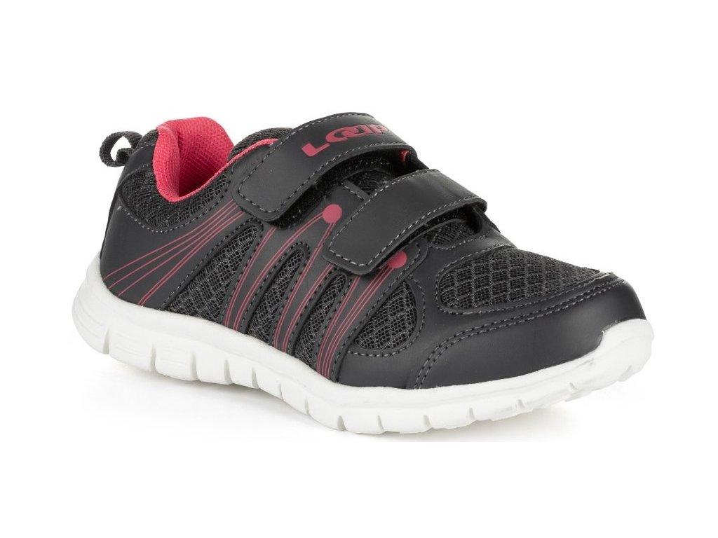 Dětské boty Loap NERA T73J šedá