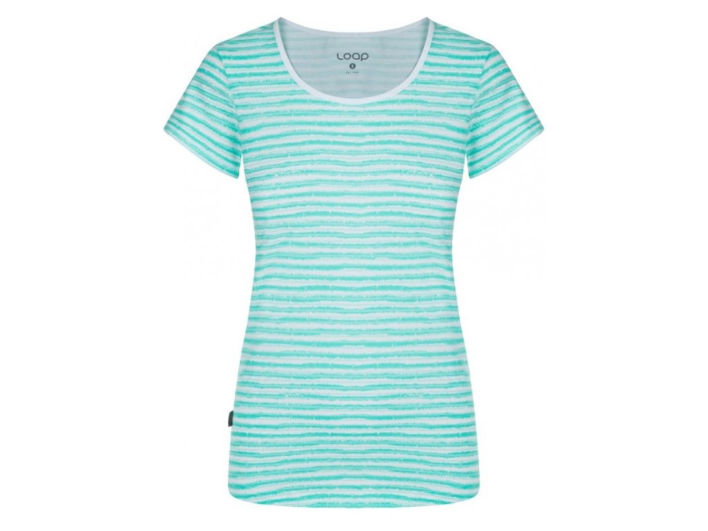 Dámské tričko Loap ADERINA A14PY zelená