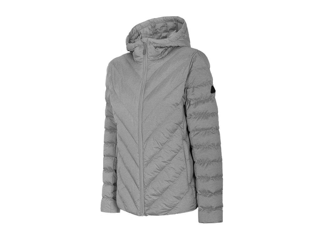 Dámská bunda Outhorn KUDP603 Cold l. grey mel. šedá