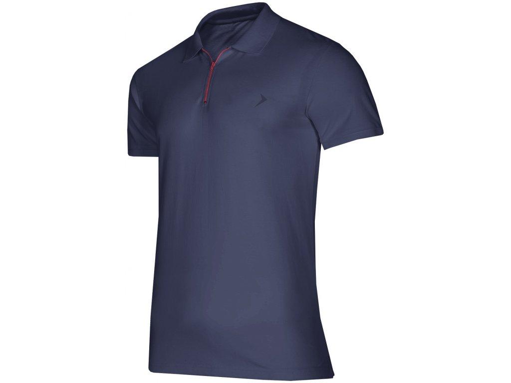 Pánské tričko Outhorn TSM624 Dark blue modrá