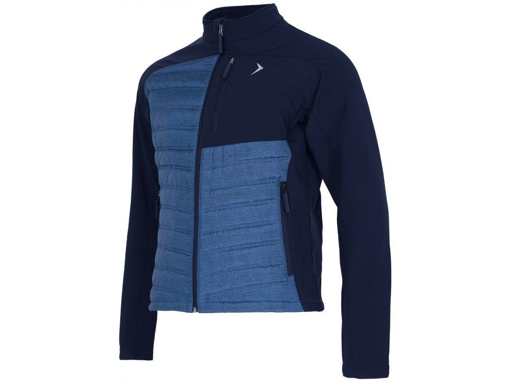Pánská bunda Outhorn KUM602 Blue mel. modrá