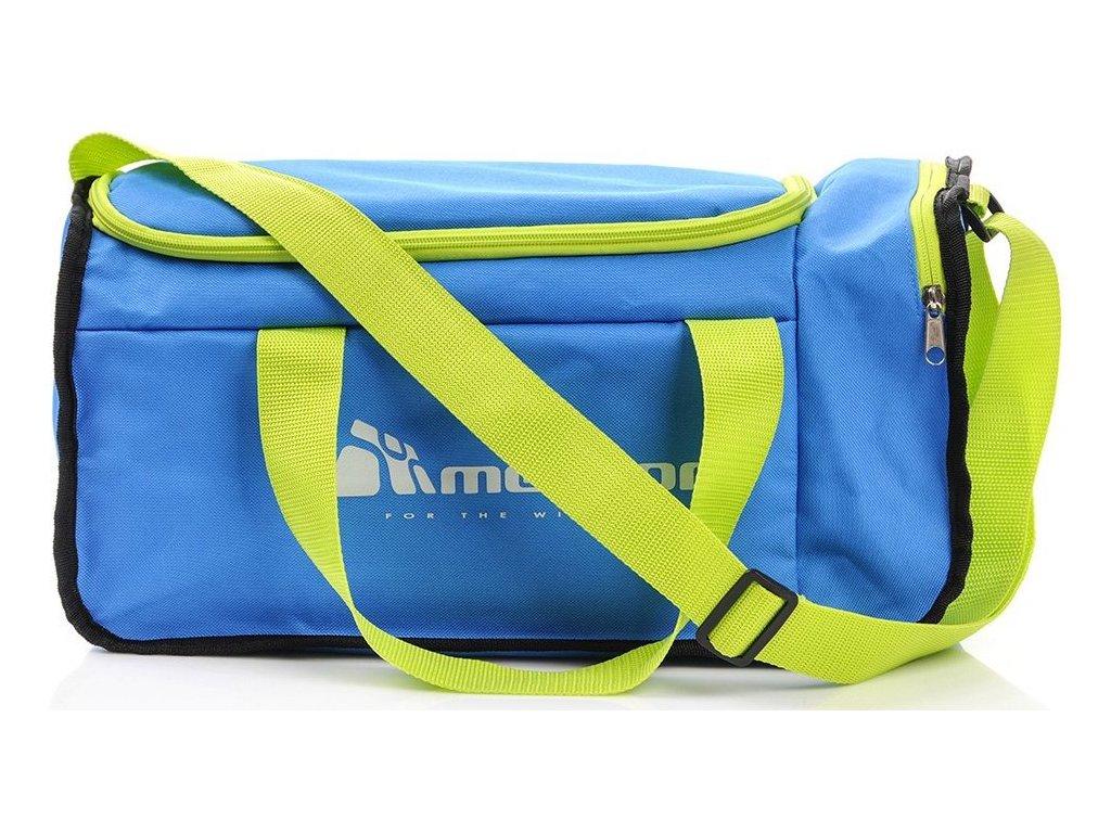 Sportovní taška Meteor 75413 niebes/zielony