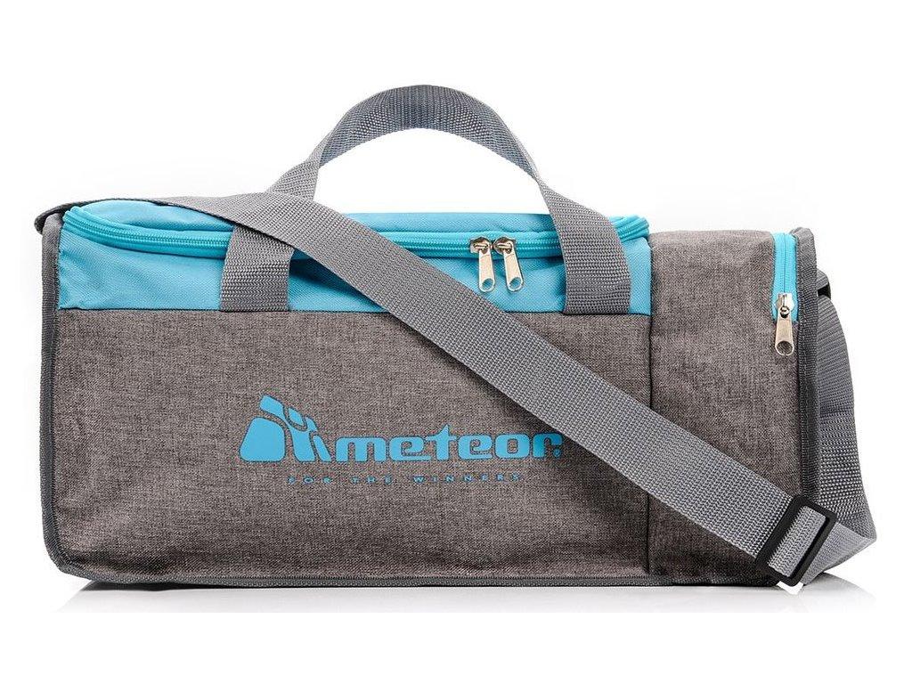 Sportovní taška Meteor 74539 niebes/szary mel modrá