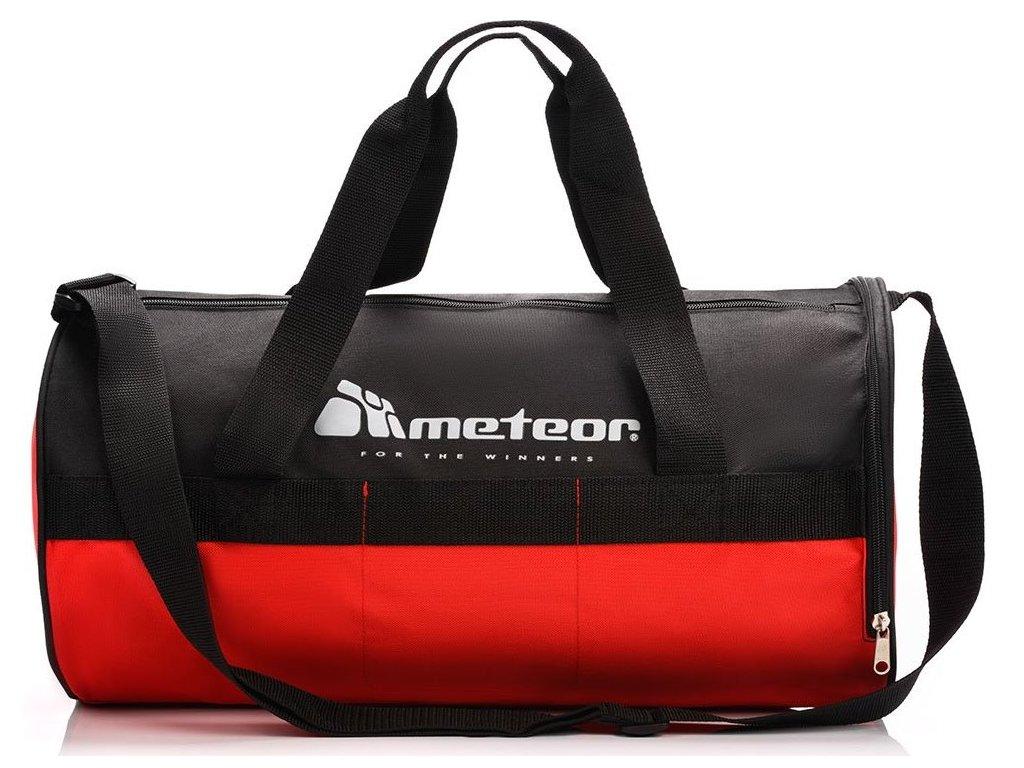 Sportovní taška Meteor 74549 czerwony červená