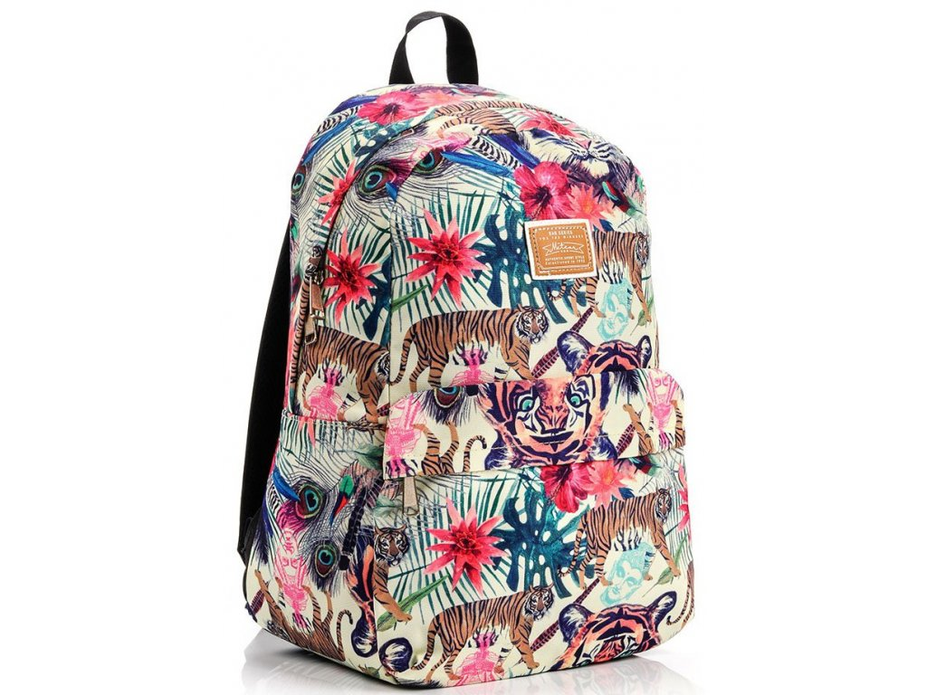 Školní batoh Meteor 74515 tiger