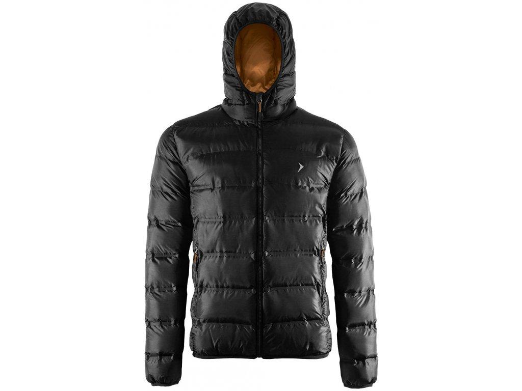 Pánská bunda Outhorn KUM603 Deep black černá