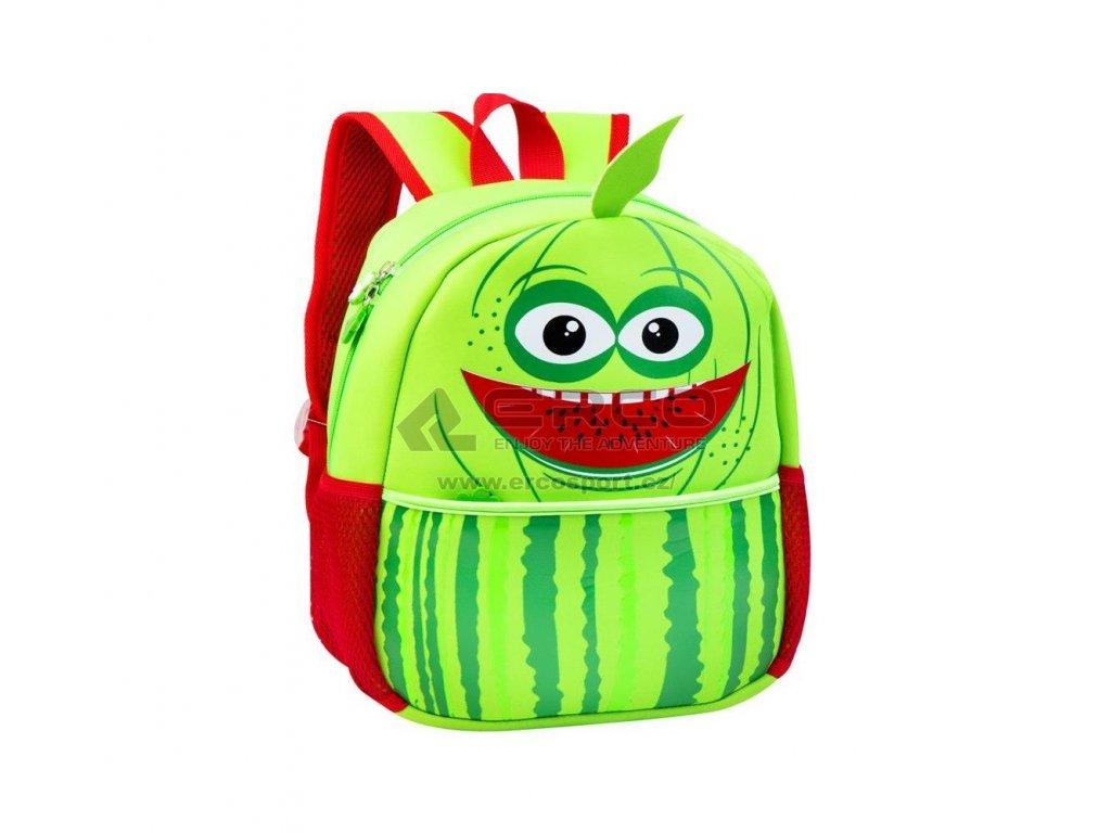 Dětský batoh Spokey MELOUNEK zelená