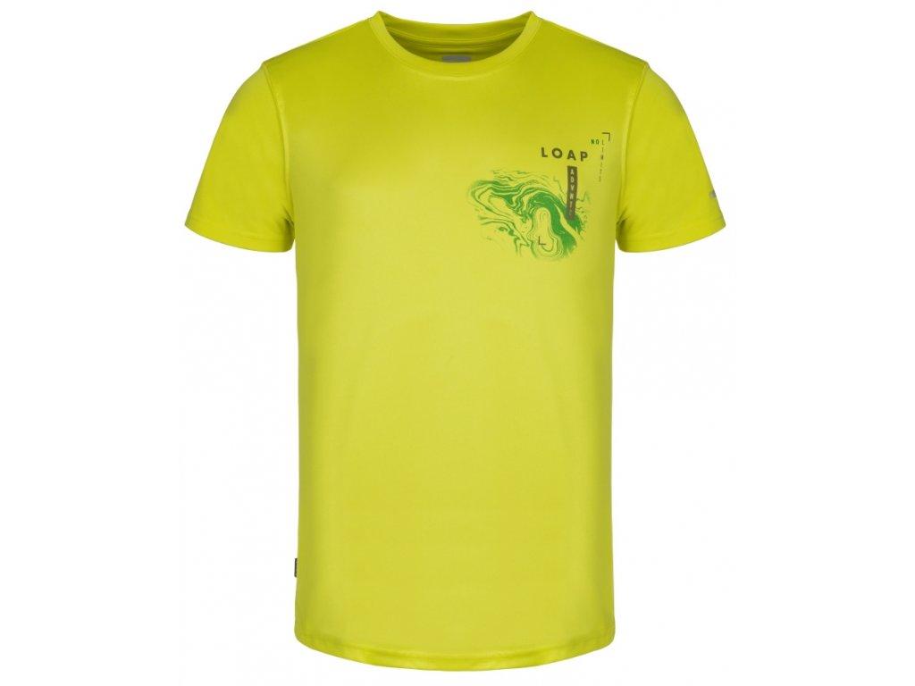 Pánské tričko Loap MALTY C09N žlutá
