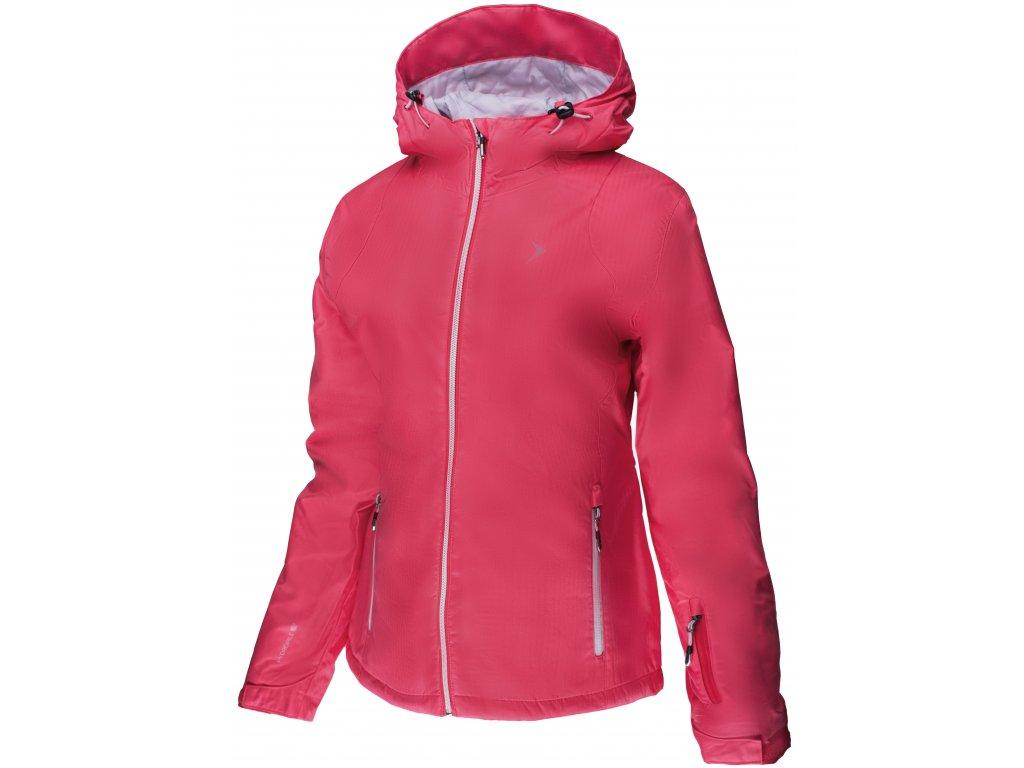 Dámská zimní bunda Outhorn KUDN600A Pink raspberry růžová